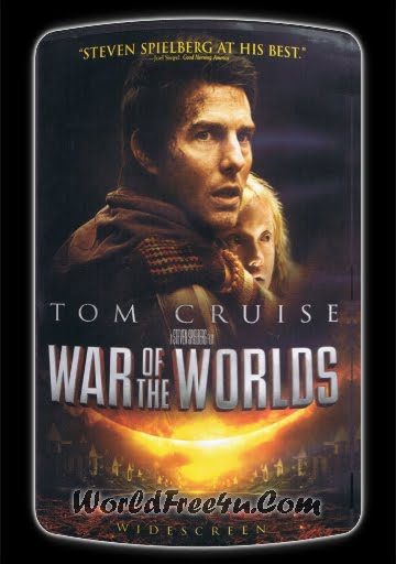 Poster Of Movie War of the Worlds (2005) Bluray Rip 720P HD Dual Audio Hindi & English Free Download At worldfree4u.com