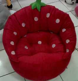 PUSAT GROSIR SOFA STRAWBERRY JUMBO