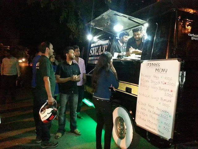 Bangalore Food Fete: Swat Food Truck