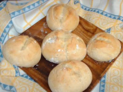Bolinhas Pão caseiro