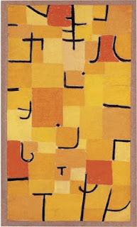 Paul Klee painting - Signes En Jaune
