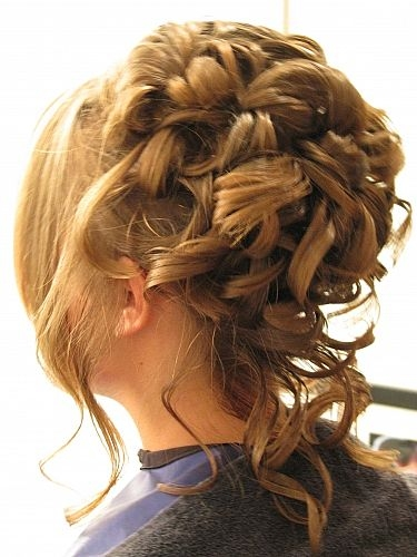 big curls hairstyles. curly prom hairstyle. prom