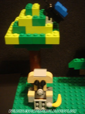 Monkey Lego Creation