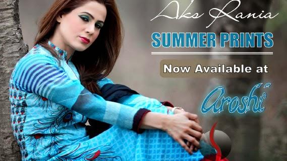 Aroshi Summer Collection 2014-2015 by Aks Rania | Arosh ...