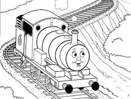 Christmas Train Coloring Pages Printable