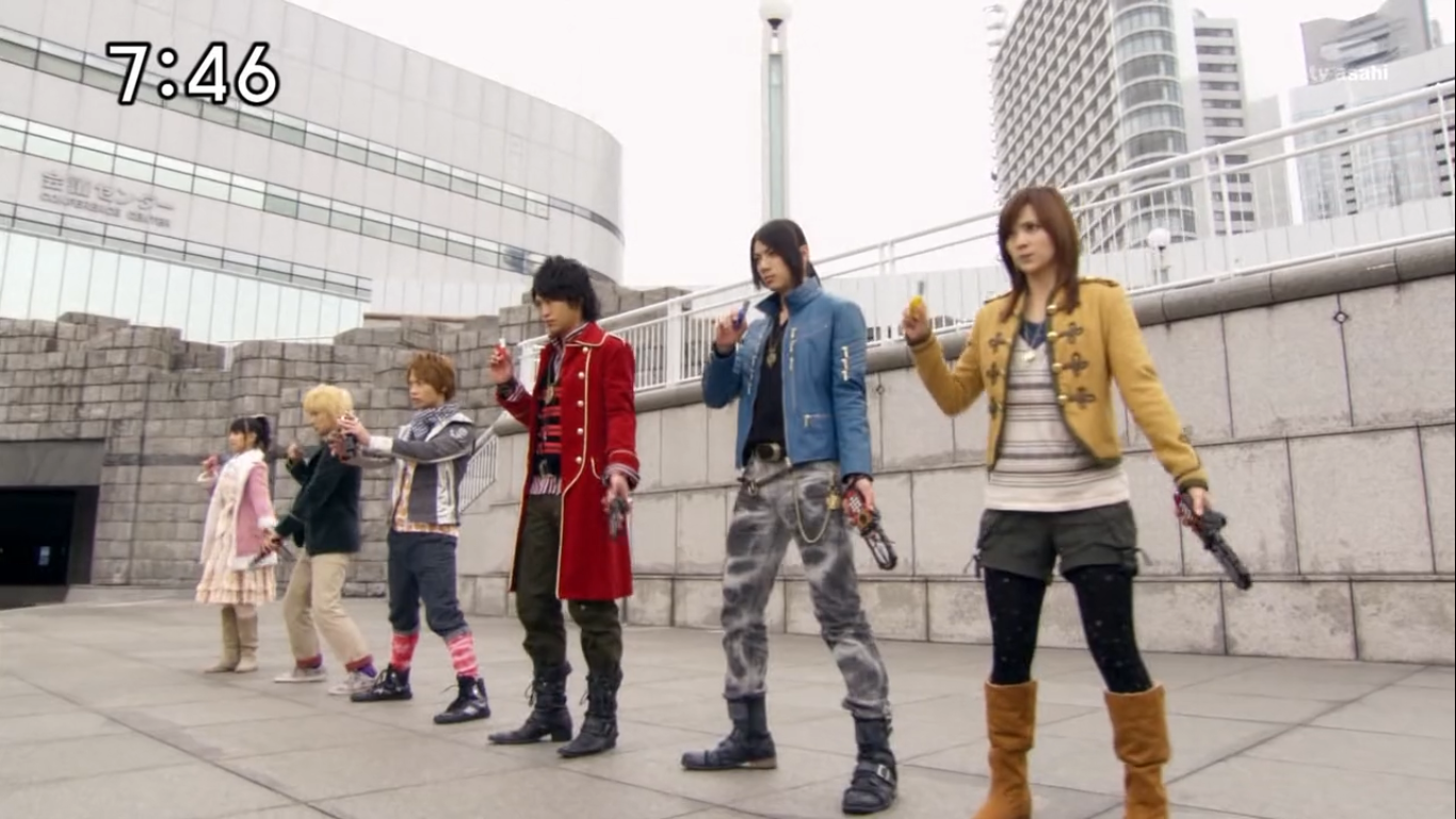 my shiny toy robots series review kaizoku sentai gokaiger