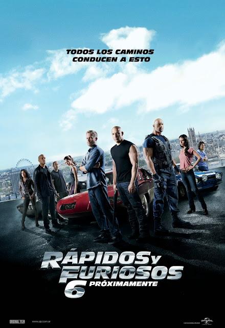 Rapido y Furioso 6 [MG] [DVDRip] [Latino] [2013]