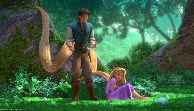 Rapunzel and Eugene Tangled Disney Animated Movie Pictures