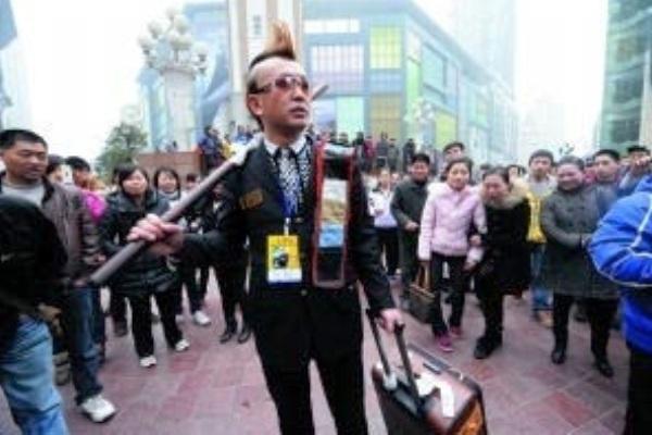 Zhou Fei pengemis naik pesawat terbang. ZonaAero