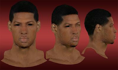 NBA 2K13 Danny Granger Cyberface Mod