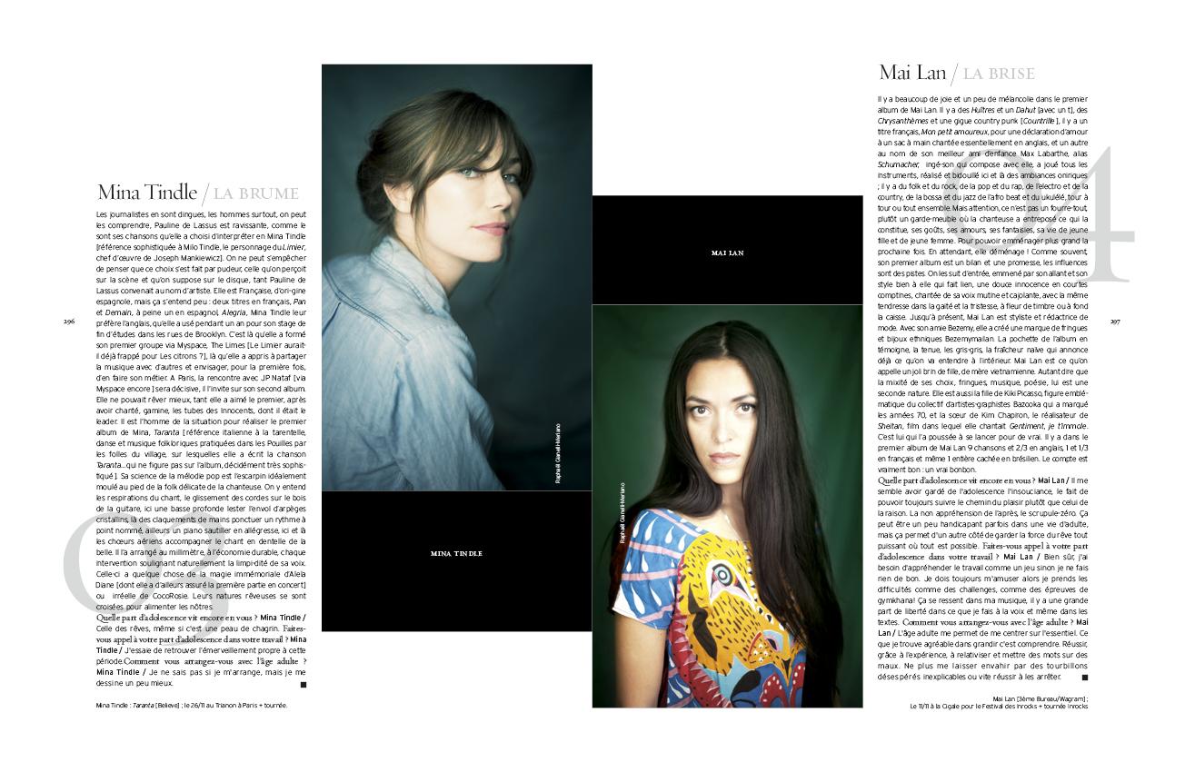 Raphael gianelli meriano mina tindle mai lan carmen for Magazine interieur