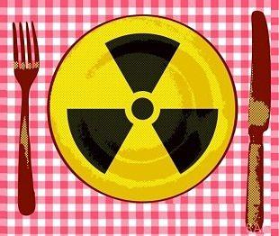 Natural radioactive foods