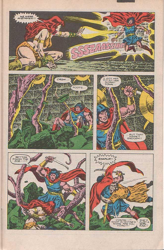Conan the Barbarian (1970) Issue #185 #197 - English 20