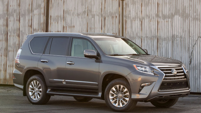 2014 Lexus GX 460 SUV HD Wallpaper 4