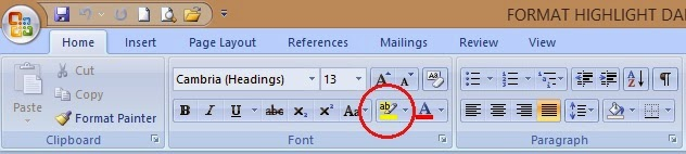 ikon highlight font