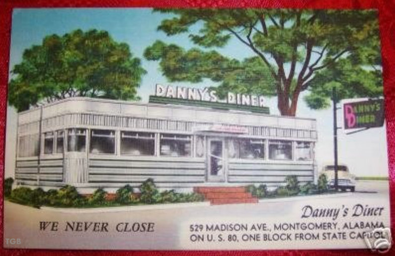 Times Gone By History Of Montgomery Al Dannys Diner