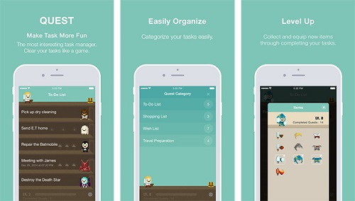 quest makes to do list app more fun
