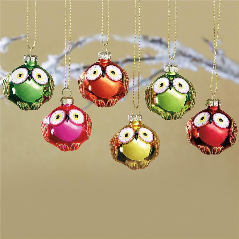 *NUO* Fuzzy Christmas Owls - My Very Educated Mother: *NUO* Fuzzy Christmas Owls
