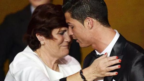 WOW! Football Star Ronaldo's Mother Almost Aborted Him When She Got Pregnant