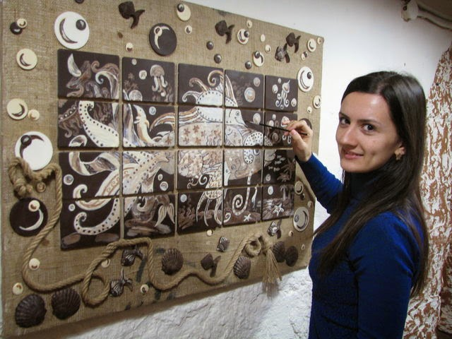 Картины из шоколада своими руками