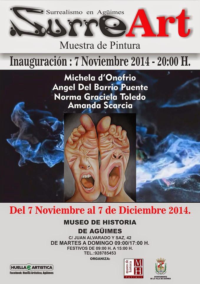 """""""SurreArt"""" en el Museo de Historia de Agüimes"""