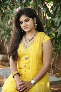 Actress Noor Jahan Picture Gallery in Yellow Salwar Kameez at Gautham Nilima Movie Opening  0060