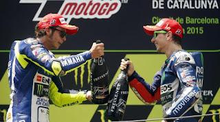 Valentino Rossi & Jorge Lorenzo Kandidat Kuat Juara MotoGP 2015