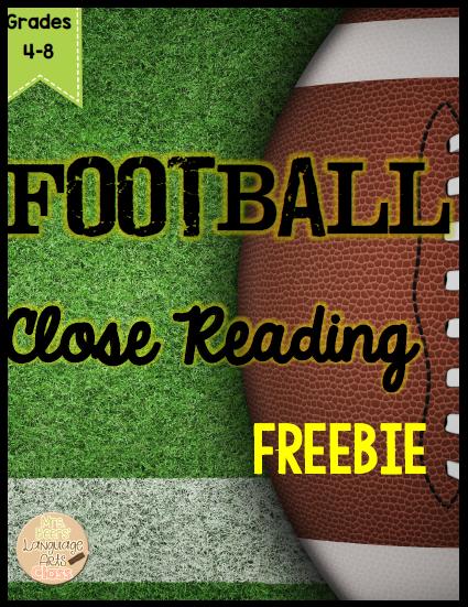 https://www.teacherspayteachers.com/Product/FOOTBALL-Close-Reading-FREEBIE-for-Grades-4-8-1678886