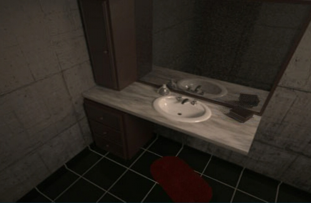 Move the carpet and pick up the key. Solved  Escape 3D  The Bathroom Walkthrough