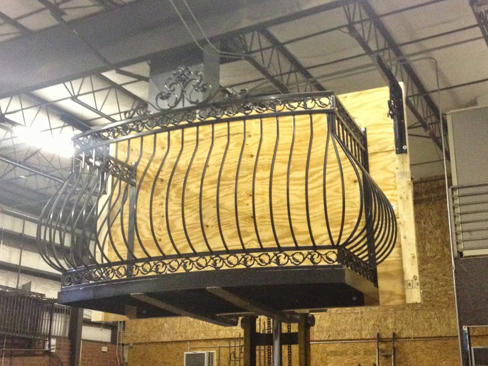 Decorative iron of nc inc iron dove queen balcony by deciron for Balcony platform