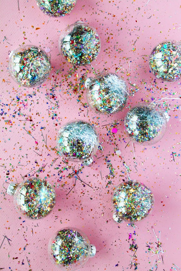 DIY File Glitter Dust Filled Balls THE VAULT FILES