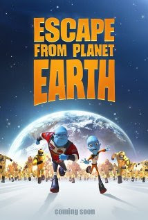 Escape from Planet Earth (2013 &#8211; Brendan Fraser, Sarah Jessica Parker and James Gandolfini)