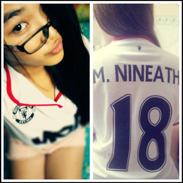 Manchester United girl from Cambodia