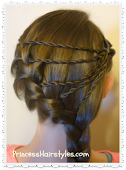 Recent Favorite Hairstyle Tutorial - Shooting Star Braid