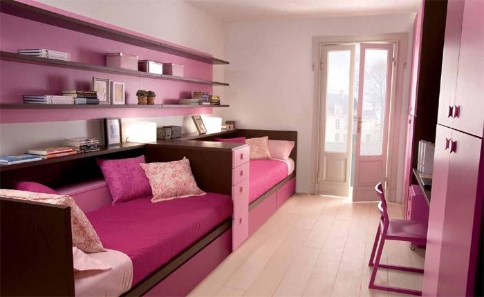 dormitorios para dos jovenes