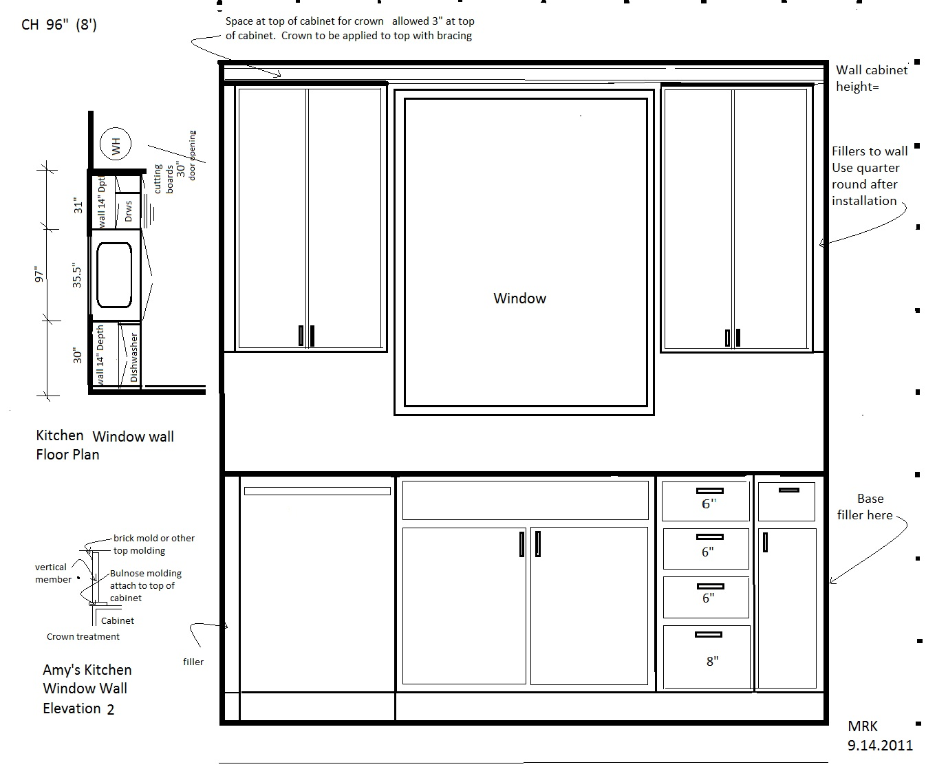 My daughter 39 s kitchen continued 3 floor plan our florida for House plans with kitchen sink window