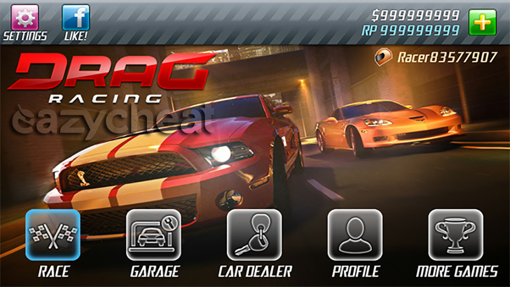 Drag Racing Cheats - Easiest way to cheat android games - eazycheat
