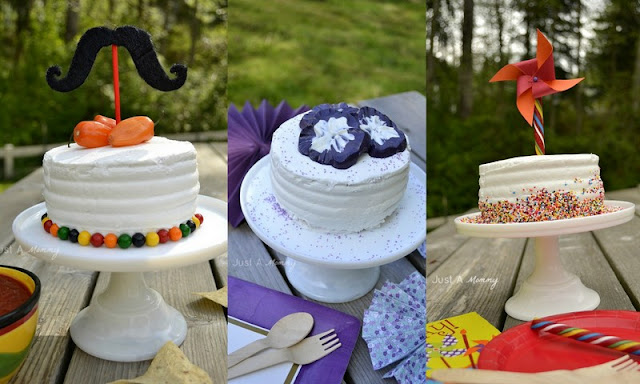 1 cake 3 ways