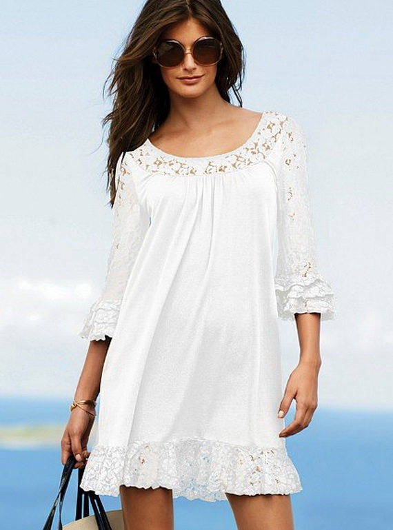 Victoria 39 S Secret Collection Little White Dresses From