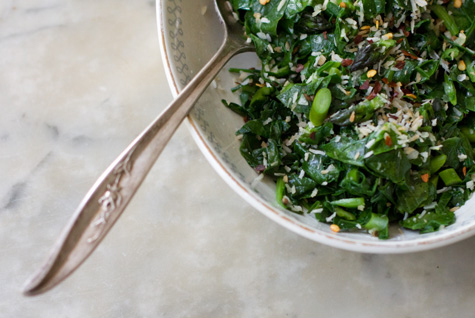 Spiced Coconut Spinach recipe from 101 cookbooks . I'm looking forward ...