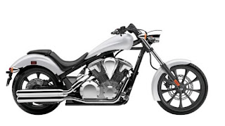 2012 Honda Fury White Color