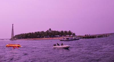 Indonesia Tourism place, pantai bontang, pantai kalimantan, pantai beras basah