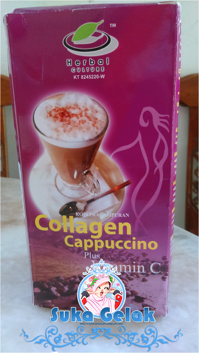 Food Review : HKCC Collagen Cappucino