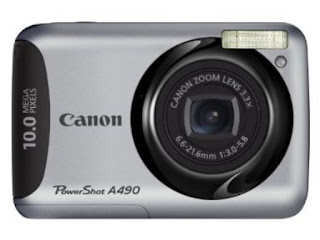harga kamera canon powershot a490