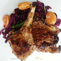 Light and Refreshing Marinated Lamb Cutlets using Oranges, Oregano, Lemon And Garlic