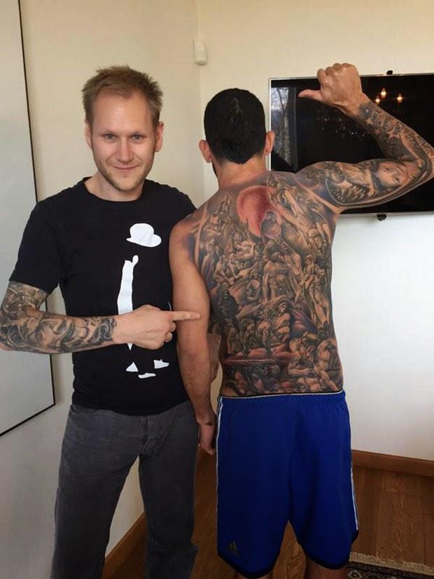 Tatuajes de Famosos : Tatuaje de Carlos Tevez