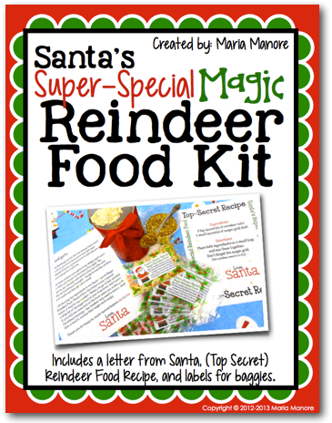 Santas Reindeer Food Kit