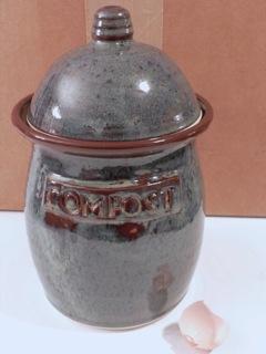 Lori Martone Pottery compost jars
