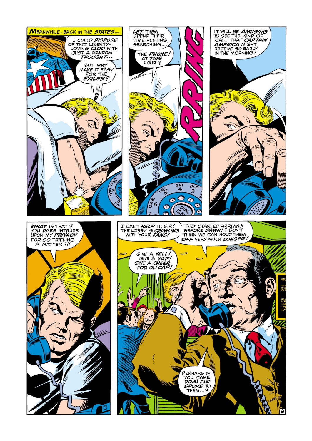 Captain America (1968) Issue #118 #32 - English 9