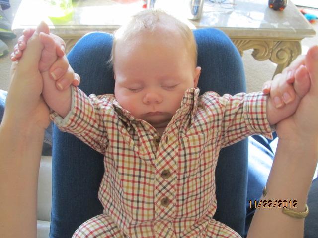 baby, sleeping baby, cute baby, when regarding ruffles